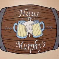Photo taken at Haus Murphy's by Brad E. on 10/14/2013