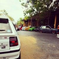 Photo taken at Pasir Salak Riverine Resort by Muhamad Jamili J. on 3/14/2014
