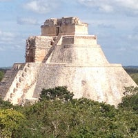 Photo taken at Uxmal by Sissi G. on 1/1/2017