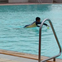Photo taken at Yio Chu Kang Swimming Complex by Fannalisa M. on 3/30/2014