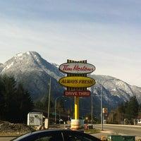 Photo taken at Tim Hortons by Garnet on 3/24/2013