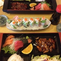 Photo taken at Umi Sushi Boat by Michael Q. on 11/8/2012