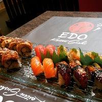 Photo taken at Edo Kaiten Sushi by Frinka A. on 1/10/2015