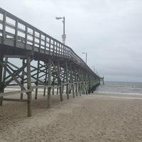 Photo taken at Oak Island Pier by John D. on 6/6/2013