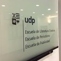 Photo taken at Facultad Comunicación y Letras UDP by Mario V. on 8/27/2013