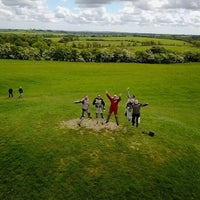 Photo taken at Hill of Tara by Selcuk O. on 5/19/2017