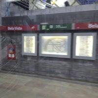 Photo taken at Metro Bela Vista [VM] by Isaque F. on 5/23/2014