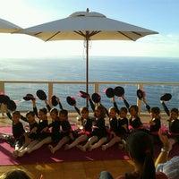 Photo taken at Cafe Vista Paraíso by Escuela de Danza P. on 10/21/2013