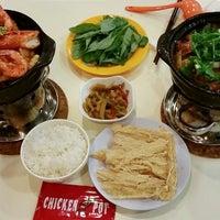 Photo taken at Chicken Hot Pot by Seokyinnn on 8/26/2014