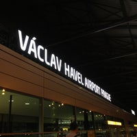 Photo taken at Václav Havel Airport Prague (PRG) by Natálie S. on 8/23/2013