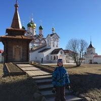 Photo taken at Троице-Сергиев Варницкий монастырь by Елена А. on 3/27/2015