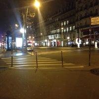 Photo taken at Boulevard de la Madeleine by Han' E. on 12/24/2015