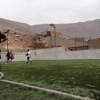 Photo taken at Soccer7 by Juan C. on 6/29/2014