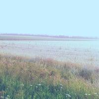 Photo taken at стык Запорожской и Донецкой области by Екатерина С. on 7/13/2014