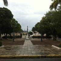 Photo taken at Praça Dois Leões by Carlos Generoso on 11/5/2013