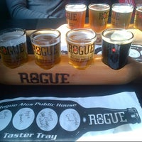 Photo taken at Rogue Ales Public House by Derya U. on 5/20/2013