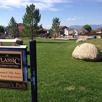 Photo taken at Brittney's Park by Travis H. on 8/24/2013