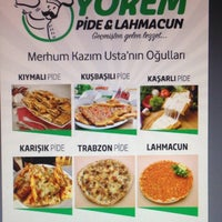 Photo taken at Yörem Pide ve Lahmacun Salonu by Kaan B. on 5/4/2018