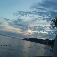 Photo taken at Kaş Marin Hotel Restorant by 'Ceren G. on 6/1/2015