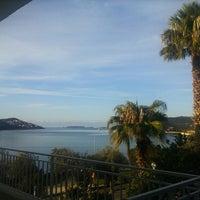 Photo taken at Kaş Marin Hotel Restorant by 'Ceren G. on 11/29/2014