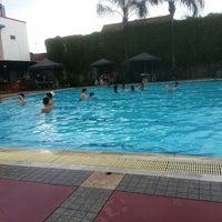 Photo taken at Sagara swimming pool by Hara H. on 7/9/2014