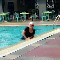 Photo taken at Sagara swimming pool by Hara H. on 6/7/2014