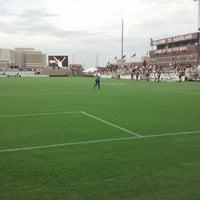 Photo taken at Ellis Field - Aggie Soccer Stadium by Stephen Z. on 9/15/2013