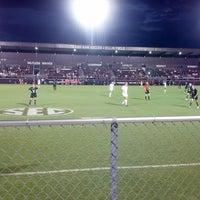 Photo taken at Ellis Field - Aggie Soccer Stadium by Stephen Z. on 9/9/2013