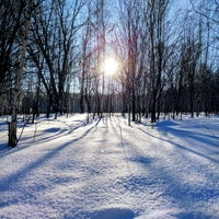 Photo taken at Ноксинский лес by Ruslan on 1/12/2018