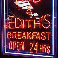 Photo taken at Bob & Edith's Diner by DJ Reece on 11/10/2013