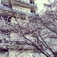 Photo taken at Adagio City Aparthotel Buttes Chaumont Paris by Flikka on 1/1/2013