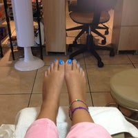 Photo taken at Planet Nails & Spa by shahad a. on 9/6/2013