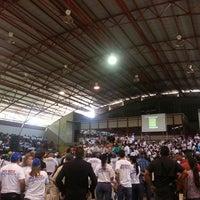 Photo taken at Gimnasio Cubierto Napoleón Rodríguez by Adaymar R. on 12/4/2013