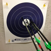 Photo taken at Gauthiers Archery by Berrie B. on 1/18/2013