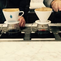 Photo taken at Blue Bottle Coffee by Joy C. on 6/17/2015