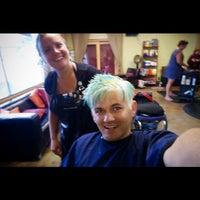 Photo taken at Shear Identity Hair Salon by Matt B. on 7/1/2015