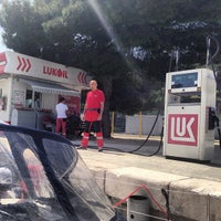 Photo taken at Lukoil by Ivan B. on 4/30/2013