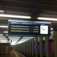 Photo taken at Metrolijn E (Den Haag Centraal) by Igor S. on 2/5/2014