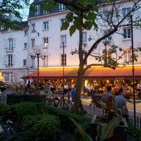 Photo taken at Place de la Contrescarpe by Vadym D. on 6/19/2013