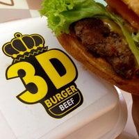 Photo taken at 3D burger by Seasons L. on 2/20/2015