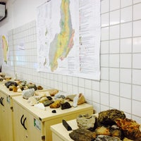 Photo taken at Laboratório de Geologia e Mineralogia by Roger F. on 10/10/2014