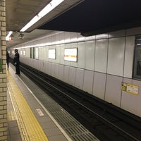 Photo taken at Midosuji Line Daikokucho Station (M21) by ぴーこちゃん on 1/15/2017
