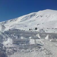 Photo taken at вр. Безбог, 2645м / Bezbog peak, 8677ft by Сибин М. on 3/6/2013