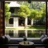 Photo taken at Anantara Chiang Mai Resort & Spa by KaeMania on 11/9/2012