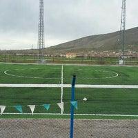Photo taken at Gürpınar Albay Hayati Evliyaoğlu  Stadyumu by Akın K. on 5/1/2015