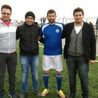 Photo taken at Gürpınar Albay Hayati Evliyaoğlu  Stadyumu by Akın K. on 3/27/2016