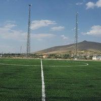 Photo taken at Gürpınar Albay Hayati Evliyaoğlu  Stadyumu by Akın K. on 8/4/2015