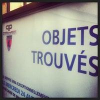 Photo taken at Service des Objets Trouvés by Florence V. on 4/25/2013
