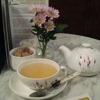 Photo taken at Oolong Flower Power Tea Shop by Irina T. on 9/24/2013