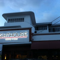 Photo taken at Lighthouse Resto + Bar by Mark L. on 4/1/2014
